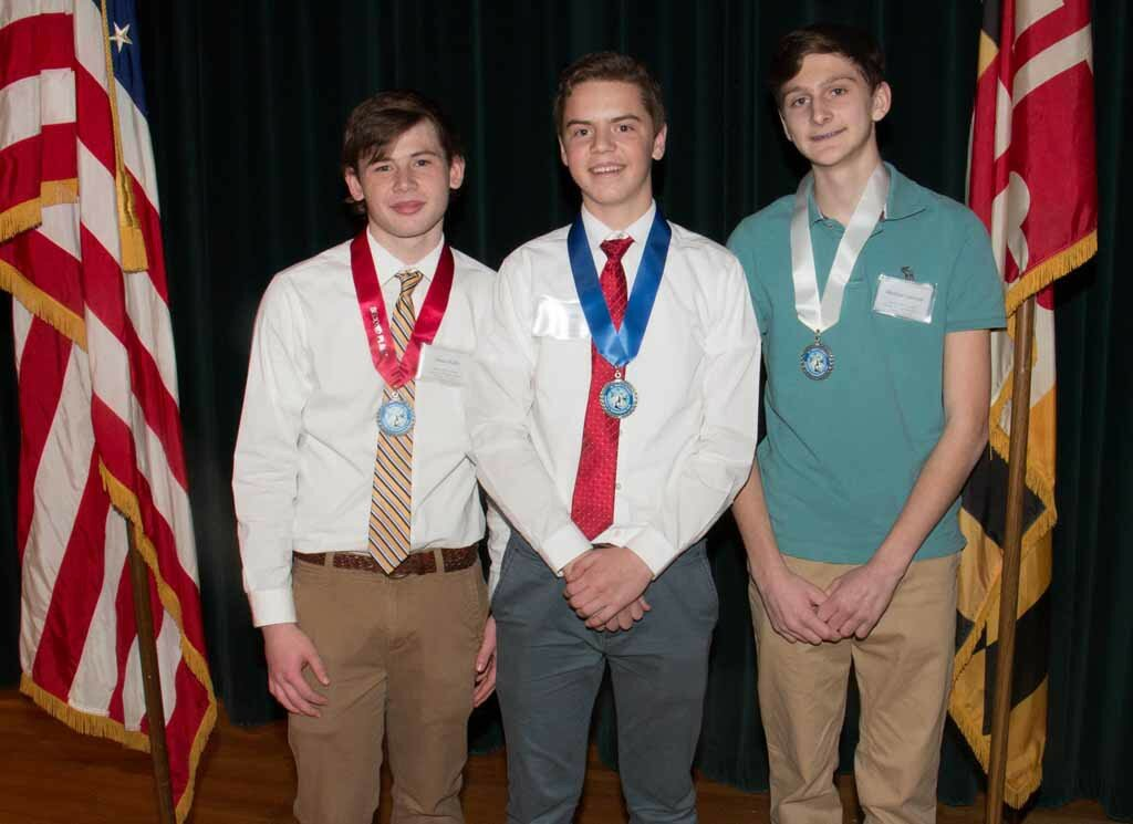 Embedded Systems Senior First Place, Jaret Williams, Ultrasonic Backup Sensor Senior Second Place, James Kelly, Development of a Low Cast Neuroprosthetic Senior Third Place, Matthew Garrison, Garage-o-Matic