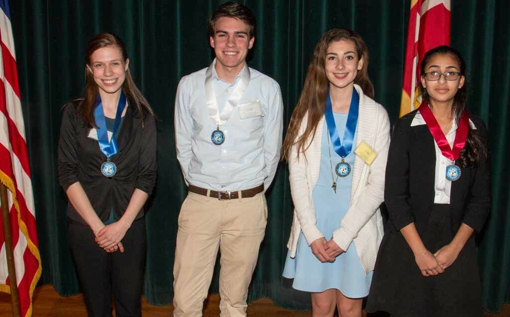 Energy: Physical Senior First Place, Natalie Wolfe, Piezoelectric Pedal Power Senior Second Place, Savanah Jabr, T/C, Efficacy Senior Third Place, Michael Collier, Tidal Energy Using a Pressure Delta Junior First Place, Madison Marigliano, Turbines for Tin Lizzie
