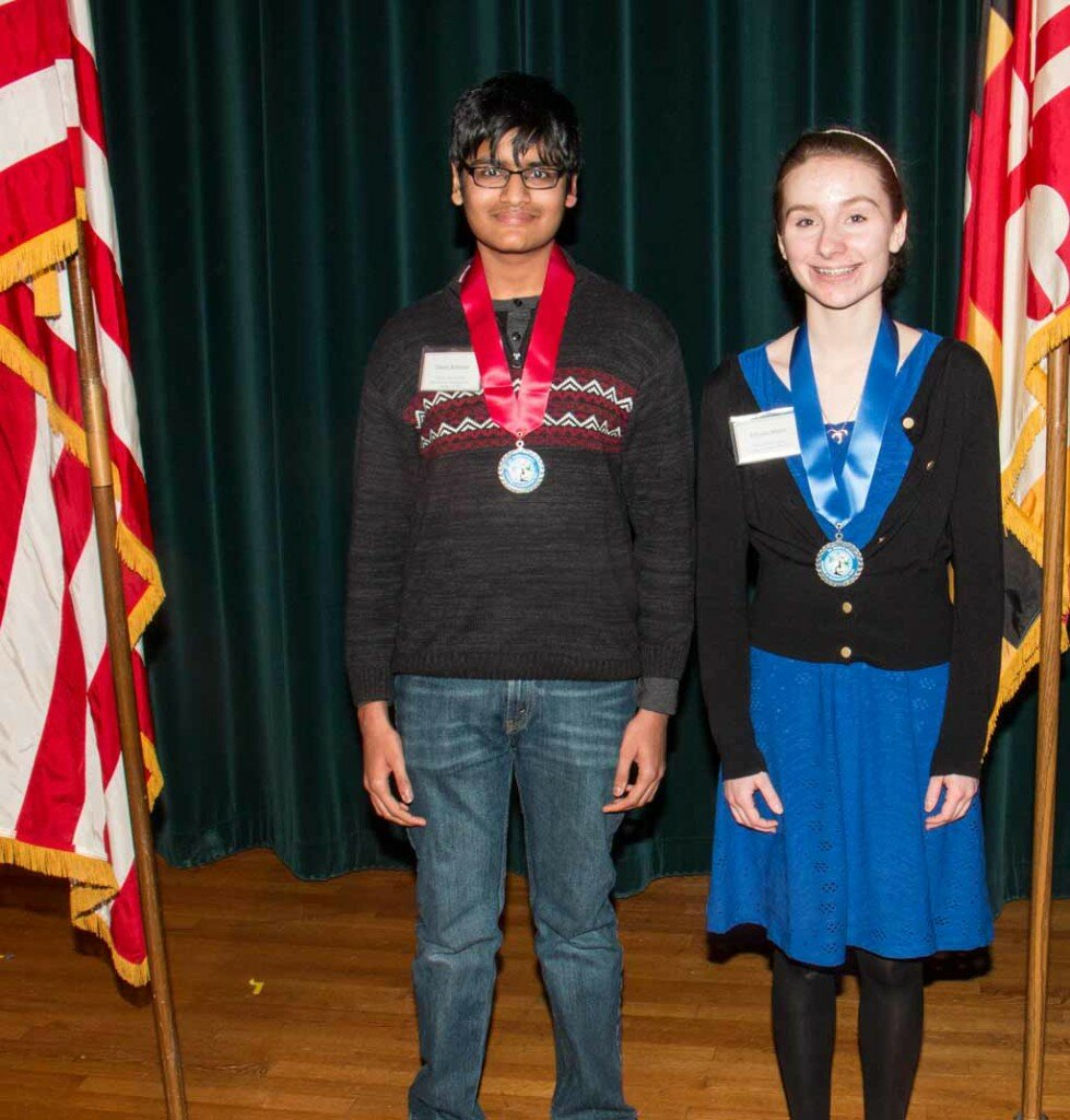 Environmental Engineering Senior First Place, Allyson Myers, The Balance of Power and Death Senior Second Place, Tahsin Rahman, No Fiber Left Behind