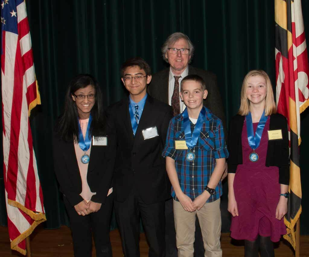 2016 St. Mary's County Science and Engineering Fair Grand Award Winners